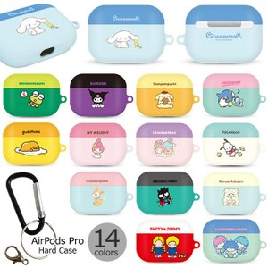 Sanrio Characters AirPods Pro Hard Case エアーポッズプロ 収...