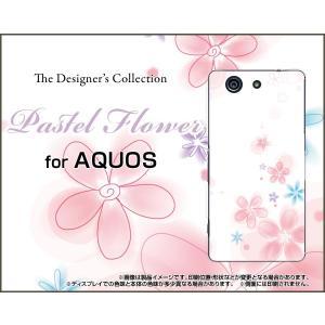 スマホケース AQUOS Xx2 mini 503SH ハードケース/TPUソフトケース Pastel Flower type004 パステル 花 フラワー ピンク ホワイト|orisma