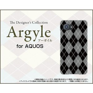 スマホケース AQUOS Xx3 mini 603SH ハードケース/TPUソフトケース Argyle(アーガイル) type002 あーがいる 格子 菱形 チェック|orisma