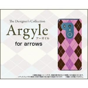スマホケース arrows Be3 F-02L docomo ハードケース/TPUソフトケース Argyle(アーガイル) type006 あーがいる 格子 菱形 チェック|orisma