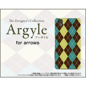 arrows Be F-04K ハードケース/TPUソフトケース 液晶保護フィルム付 Argyle(アーガイル) type001 あーがいる 格子 菱形 チェック|orisma