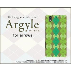 arrows Be F-04K ハードケース/TPUソフトケース 液晶保護フィルム付 Argyle(アーガイル) type003 あーがいる 格子 菱形 チェック|orisma