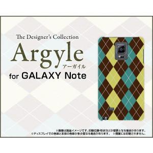 スマホケース GALAXY Note Edge SC-01G SCL24 ハードケース/TPUソフトケース Argyle(アーガイル) type001 あーがいる 格子 菱形 チェック|orisma