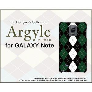 スマホケース GALAXY Note Edge SC-01G SCL24 ハードケース/TPUソフトケース Argyle(アーガイル) type004 あーがいる 格子 菱形 チェック|orisma