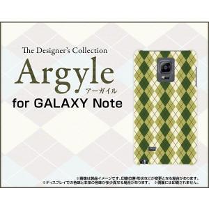 スマホケース GALAXY Note Edge SC-01G SCL24 ハードケース/TPUソフトケース Argyle(アーガイル) type005 あーがいる 格子 菱形 チェック|orisma