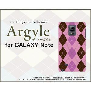 スマホケース GALAXY Note Edge SC-01G SCL24 ハードケース/TPUソフトケース Argyle(アーガイル) type006 あーがいる 格子 菱形 チェック|orisma