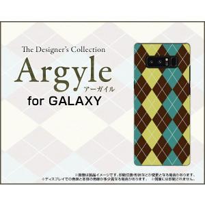GALAXY Note 8 SC-01K SCV37 ハードケース/TPUソフトケース 液晶保護フィルム付 Argyle(アーガイル) type001 あーがいる 格子 菱形 チェック|orisma