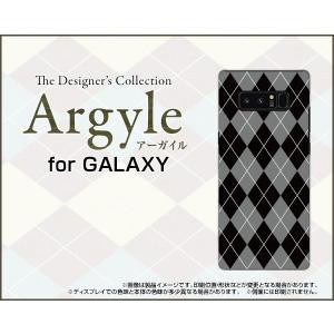 GALAXY Note 8 SC-01K SCV37 ハードケース/TPUソフトケース 液晶保護フィルム付 Argyle(アーガイル) type002 あーがいる 格子 菱形 チェック|orisma