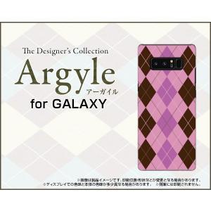 GALAXY Note 8 SC-01K SCV37 ハードケース/TPUソフトケース 液晶保護フィルム付 Argyle(アーガイル) type006 あーがいる 格子 菱形 チェック|orisma