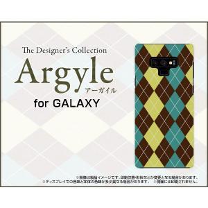スマホケース GALAXY Note9 SC-01L SCV40 docomo au ハードケース/TPUソフトケース Argyle(アーガイル) type001 あーがいる 格子 菱形 チェック|orisma