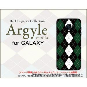 スマホケース GALAXY S7 edge SC-02H SCV33 ギャラクシー ハードケース/TPUソフトケース Argyle(アーガイル) type004 あーがいる 格子 菱形 チェック|orisma