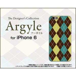 スマホケース iPhone 6s ハードケース/TPUソフトケース Argyle(アーガイル) type001 あーがいる 格子 菱形 チェック|orisma