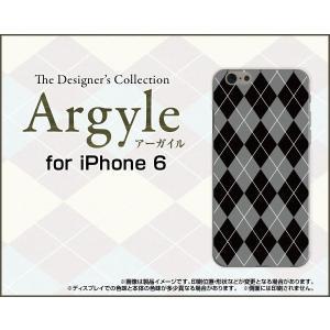 スマホケース iPhone 6s ハードケース/TPUソフトケース Argyle(アーガイル) type002 あーがいる 格子 菱形 チェック|orisma