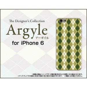 スマホケース iPhone 6s ハードケース/TPUソフトケース Argyle(アーガイル) type005 あーがいる 格子 菱形 チェック|orisma