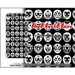 スマホケース iPhone 6s Plus ハードケース/TPUソフトケース The Mask Mans(ブラック) マスク 覆面 プロレス orisma