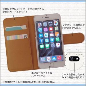 スマホケース iPhone XS/XS Max XR X 8 8Plus 7 7Plus SE 6/6s iPod 手帳型ケース/カバー 北欧風花柄type1レッド 花柄 フラワー レッド 赤|orisma|03