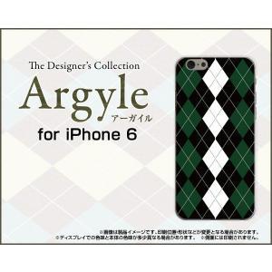 スマホケース iPhone 6 ハードケース/TPUソフトケース Argyle(アーガイル) type004 あーがいる 格子 菱形 チェック orisma