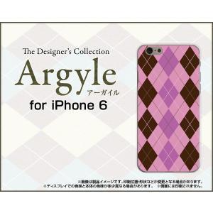 スマホケース iPhone 6 ハードケース/TPUソフトケース Argyle(アーガイル) type006 あーがいる 格子 菱形 チェック orisma