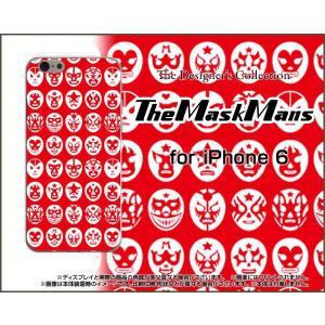 スマホケース iPhone 6 ハードケース/TPUソフトケース The Mask Mans(レッド) マスク 覆面 プロレス|orisma