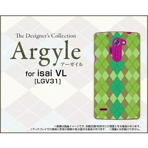 スマホケース isai VL LGV31 ハードケース/TPUソフトケース Argyle(アーガイル) type003 あーがいる 格子 菱形 チェック|orisma