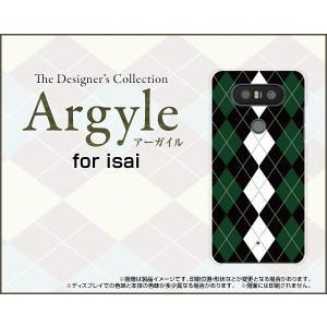 スマホケース isai Beat LGV34 ハードケース/TPUソフトケース Argyle(アーガイル) type004 あーがいる 格子 菱形 チェック|orisma