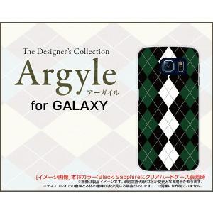 スマホケース GALAXY S6 SC-05G ハードケース/TPUソフトケース Argyle(アーガイル) type004 あーがいる 格子 菱形 チェック|orisma