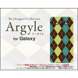 スマホケース GALAXY A8 SCV32 ギャラクシー A8 ハードケース/TPUソフトケース Argyle(アーガイル) type001 あーがいる 格子 菱形 チェック|orisma