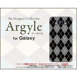 スマホケース GALAXY A8 SCV32 ギャラクシー A8 ハードケース/TPUソフトケース Argyle(アーガイル) type002 あーがいる 格子 菱形 チェック|orisma