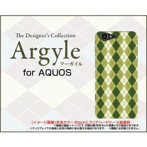 スマホケース AQUOS SERIE SHV34 アクオス ハードケース/TPUソフトケース Argyle(アーガイル) type005 あーがいる 格子 菱形 チェック|orisma