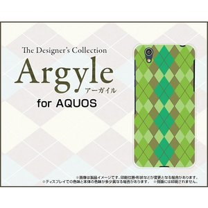 スマホケース AQUOS U SHV37 ハードケース/TPUソフトケース Argyle(アーガイル) type003 あーがいる 格子 菱形 チェック|orisma