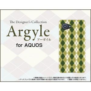 スマホケース AQUOS SERIE mini SHV38 ハードケース/TPUソフトケース Argyle(アーガイル) type005 あーがいる 格子 菱形 チェック|orisma