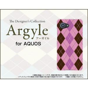 スマホケース AQUOS SERIE mini SHV38 ハードケース/TPUソフトケース Argyle(アーガイル) type006 あーがいる 格子 菱形 チェック|orisma