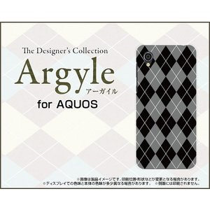 スマホケース AQUOS sense2 かんたん SHV43K au ハードケース/TPUソフトケース Argyle(アーガイル) type002 あーがいる 格子 菱形 チェック orisma