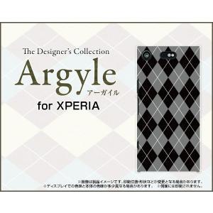 スマホケース XPERIA XZ1 Compact SO-02K ハードケース/TPUソフトケース Argyle(アーガイル) type002 あーがいる 格子 菱形 チェック|orisma