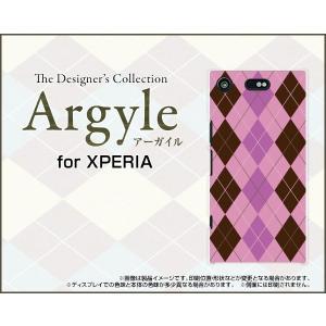 スマホケース XPERIA XZ1 Compact SO-02K ハードケース/TPUソフトケース Argyle(アーガイル) type006 あーがいる 格子 菱形 チェック|orisma