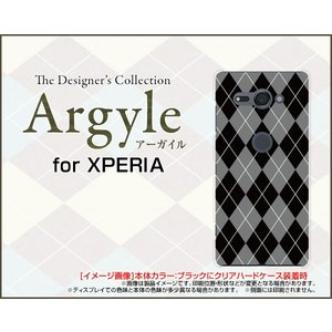 スマホケース XPERIA XZ2 Compact SO-05K ハードケース/TPUソフトケース Argyle(アーガイル) type002 あーがいる 格子 菱形 チェック|orisma