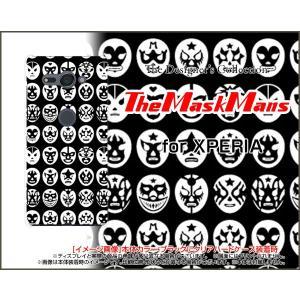 スマホケース XPERIA XZ2 Compact SO-05K ハードケース/TPUソフトケース The Mask Mans(ブラック) マスク 覆面 プロレス|orisma