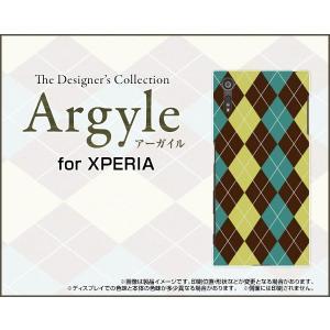 スマホケース XPERIA XZs SO-03J SOV35 602SO ハードケース/TPUソフトケース Argyle(アーガイル) type001 あーがいる 格子 菱形 チェック|orisma