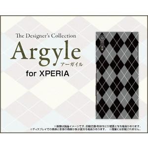 スマホケース XPERIA XZs SO-03J SOV35 602SO ハードケース/TPUソフトケース Argyle(アーガイル) type002 あーがいる 格子 菱形 チェック|orisma