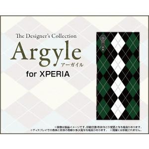 スマホケース XPERIA XZs SO-03J SOV35 602SO ハードケース/TPUソフトケース Argyle(アーガイル) type004 あーがいる 格子 菱形 チェック|orisma