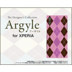 スマホケース XPERIA XZs SO-03J SOV35 602SO ハードケース/TPUソフトケース Argyle(アーガイル) type006 あーがいる 格子 菱形 チェック|orisma