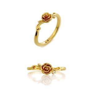 Blooming Rose リング K18イエローゴールド|orite