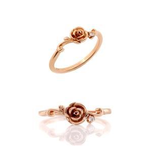 Blooming Rose リング K18ピンクゴールド|orite