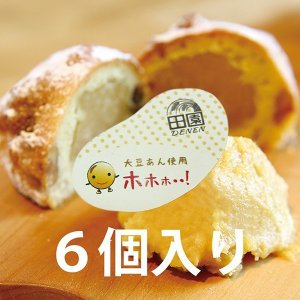 お菓子 焼き菓子 6個入り シュトレン風 手のひらサイズ ミニケーキ 大豆餡使用 ホホホ 滋賀県米原市|orite