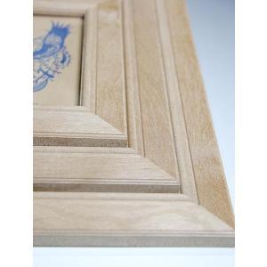 無垢天然木の3段額縁 木製・フォトフレーム |orite