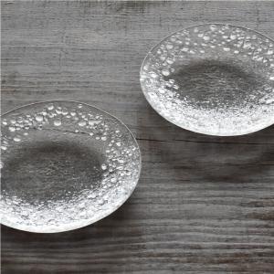 ガラスの小皿2枚組 orite