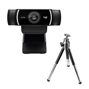 ロジクール ウェブカメラ C922n フルHD 1080P 自動フォーカス ステレオマイク 撮影用三...