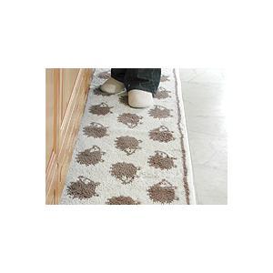 キッチンマット 260 北欧 ロング ハリネズミ 45×260 はりねずみ モダン 洗える シンプル|orizin|04