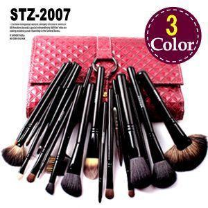 20本メイクブラシセット 化粧ブラシセット メイクブラシ収納ケース付  STZ-2007|oroshi-ee