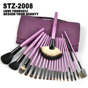 20本メイクブラシセット 化粧ブラシセット メイクブラシ収納ケース付  STZ-2008|oroshi-ee